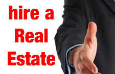 hire a real estate agent